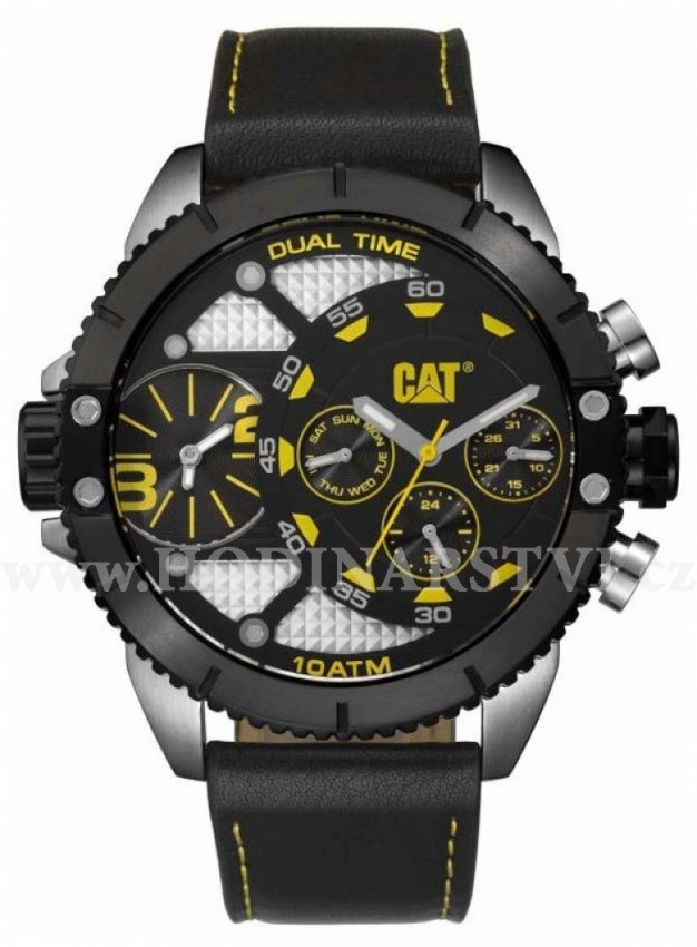 Hodinky Caterpillar DV-149-34-137 Dual Timer
