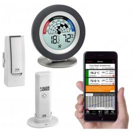 Bezdrátový monitor klimatu TFA 31.4008.02 WEATHERHUB - startovní balíček č. 8