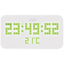 JVD SB2178.2 - Stálesvítící digitální hodiny se zobrazením vnitřní teploty