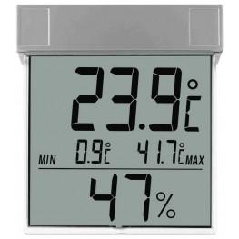 Venkovní digitální teploměr s vlhkoměrem na okno TFA 30.5020