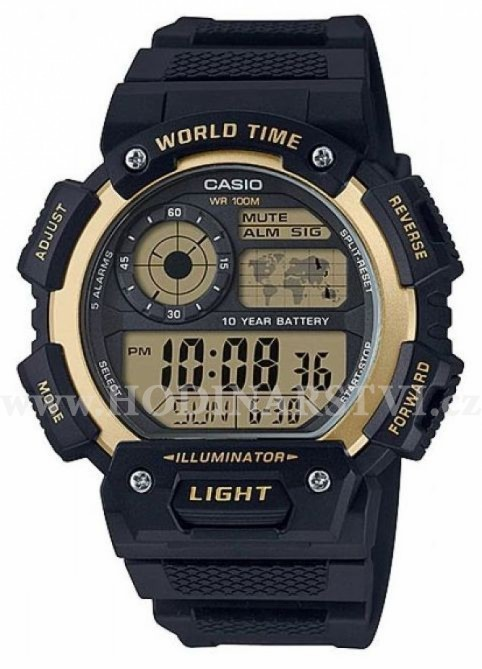 Hodinky Casio AE 1400WH-9A