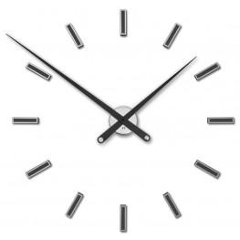 Designové nalepovací hodiny Future Time FT9100BK Modular black 85cm