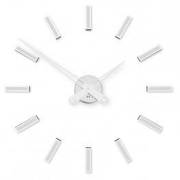 Designové nalepovací hodiny Future Time FT9600WH Modular white 60cm
