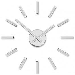 Designové nalepovací hodiny Future Time FT9400WH Modular white 40cm