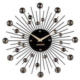 Designové nástěnné hodiny 4860BK Karlsson 30cm