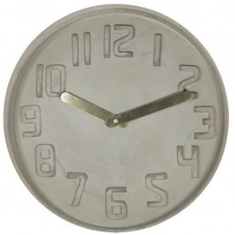 Designové nástěnné kameninové hodiny CL0128 Fisura 35cm 733d6e18c5