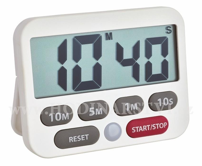 Digitální časovač a stopky TFA 38.2038.02 - bílá - Hodinářství.cz dc255b8f051
