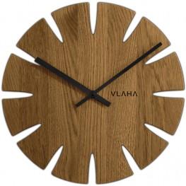 Dubové hodiny VLAHA VCT1015 vyrobené v Čechách