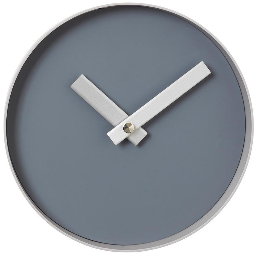 Nástěnné hodiny Blomus RIM šedé