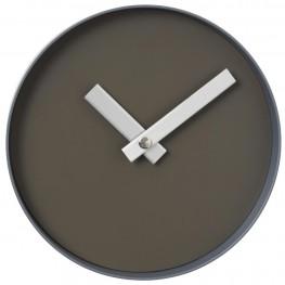 Nástěnné hodiny Blomus RIM tmavě šedé