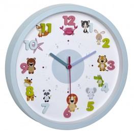 Dětské nástěnné hodiny TFA 60305114 LITTLE ANIMALS