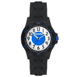 Svítící černé sportovní chlapecké hodinky CLOCKODILE SPORT CWB0040