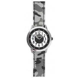 Svítící šedé chlapecké hodinky CLOCKODILE ARMY CWB0032