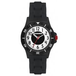 Svítící černé sportovní chlapecké hodinky CLOCKODILE SPORT CWB0045