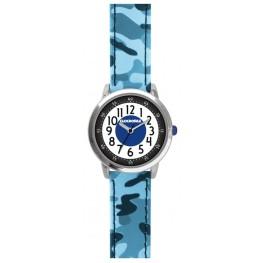Svítící modré chlapecké hodinky CLOCKODILE ARMY CWB0030