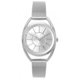 Stříbrné dámské hodinky MINET ICON PURE SILVER MESH MWL5013