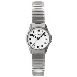 Dámské pružné hodinky LAVVU LWL5010 STOCKHOLM Small White