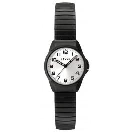 Dámské pružné hodinky LAVVU LWL5015 STOCKHOLM Small Black