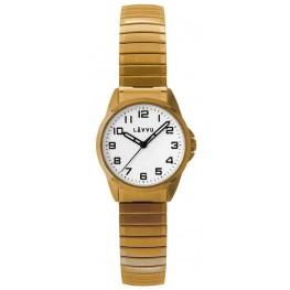 Dámské pružné hodinky LAVVU LWL5012 STOCKHOLM Small Gold