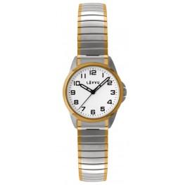 Dámské pružné hodinky LAVVU LWL5014 STOCKHOLM Small Bicolor