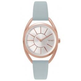 Šedé dámské hodinky MINET ICON MISS GREY MWL5075
