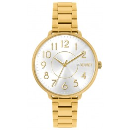 Zlaté dámské hodinky MINET PRAGUE Pure Gold MWL5131
