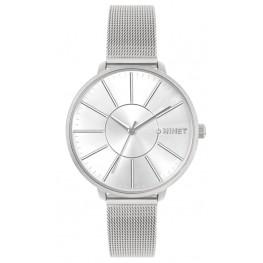 Stříbrné dámské hodinky MINET PRAGUE Pure Silver MESH MWL5137