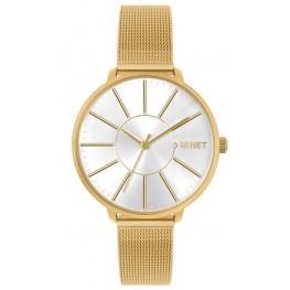 Zlaté dámské hodinky MINET PRAGUE Pure Gold MESH MWL5138