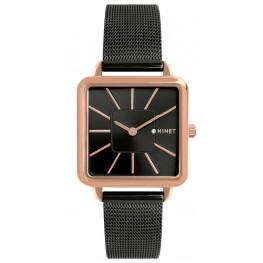 Černé dámské hodinky MINET OXFORD DRAMA QUEEN MWL5107