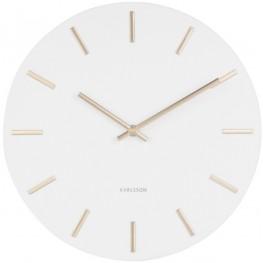 Designové nástěnné hodiny Karlsson KA5821WH 30cm