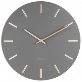Designové nástěnné hodiny Karlsson KA5821GY 30cm