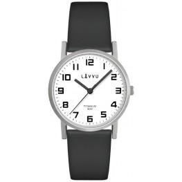 Stříbrné dámské titanové hodinky LAVVU LWL5030 MANDAL