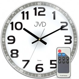 Stálesvítící hodiny JVD HPC11