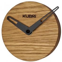 Miniaturní dubové hodiny české výroby KUBRi 0019