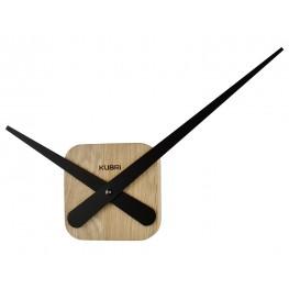 Minimalistické dubové hodiny české výroby KUBRi 0030