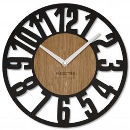 Flexistyle z220 - nástěnné hodiny z přírodního dubu
