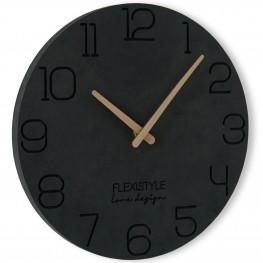 Flexistyle z210d - nástěnné hodiny s průměrem 30 cm