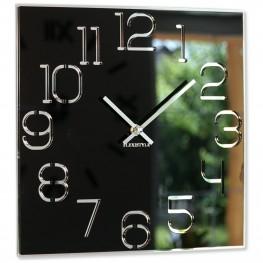 Flexistyle z120 - nástěnné skleněné hodiny