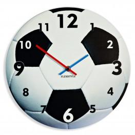 Flexistyle z100a - nástěnné skleněné fotbalové hodiny