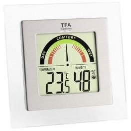 Digitální teploměr s vlhkoměrem s ukazatelem komfortní zóny TFA 30.5023