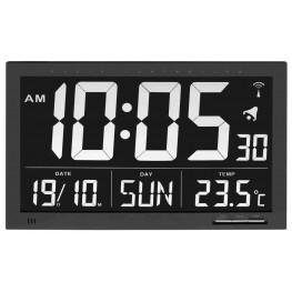 Rádiem řízené nástěnné hodiny vel. XL TFA 60.4505