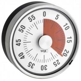 Kuchyňská minutka TFA 38.1028.10 PUCK - antracit