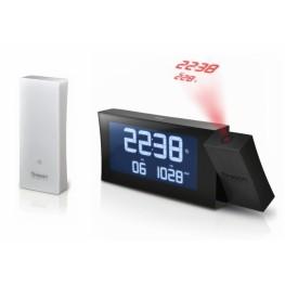 Digitální budík, projekcí a FM radiopřijímačem RRM222PBK PRYSMA