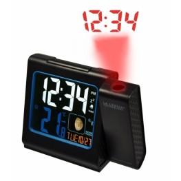 Digitální budík s projekcí a měřením vniřní teploty WT 551BK