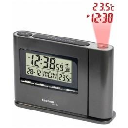 Digitální budík s projekcí času a vnitřní teploty WT 519