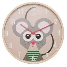 Dětské nástěnné hodiny Karlsson s myškou JIP0902