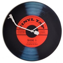 Hodiny NEXTIME 8141 43cm Vinyl Tap