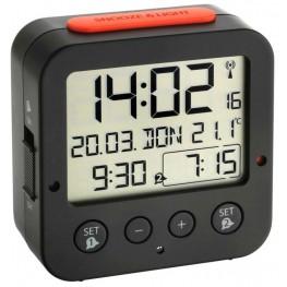Digitální budík s hodinami řízenými DCF signálem TFA 60.2528.01 BINGO