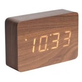 LED budík - hodiny Karlsson 5653DW 15cm