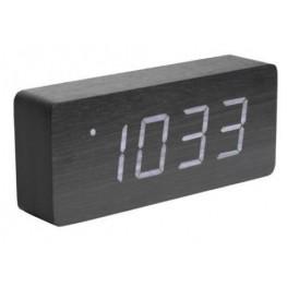 LED budík - hodiny Karlsson 5654BK 21cm
